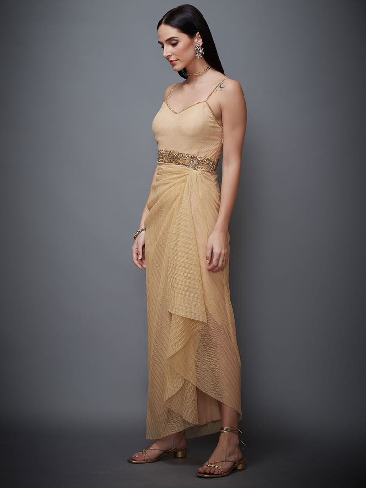 Beige Sonar Dress