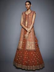 Rust & Gold Bridal Jacket