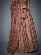 Pink Aditi Zardozi Embroidered Lehenga Set