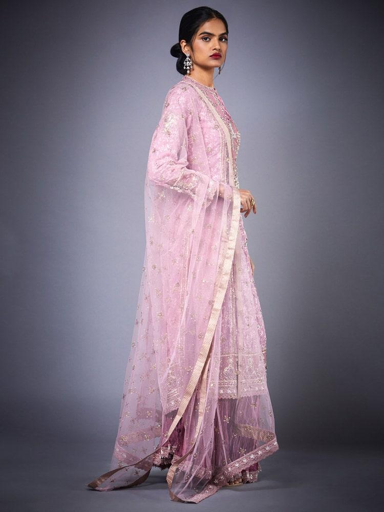 Pink Shifli Embroidered Skirt Set