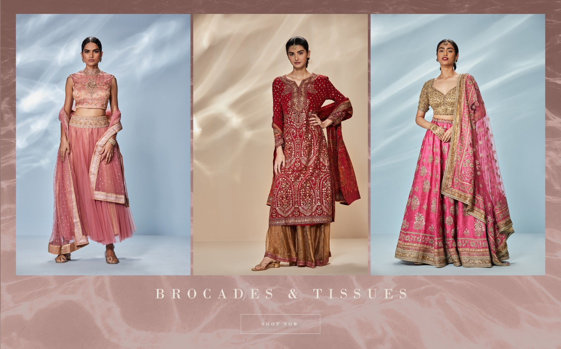 Brocades and Tissues